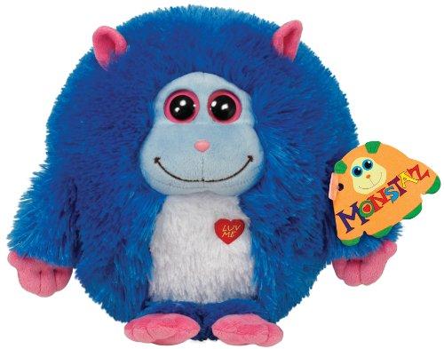Ty Beanie - Monstaz Jerry mit Ton, blau