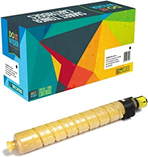 Do it Wiser Compatible Toner Cartridge Replacement for Ricoh Aficio MP C3500 MP C4500-888605 (Yellow)