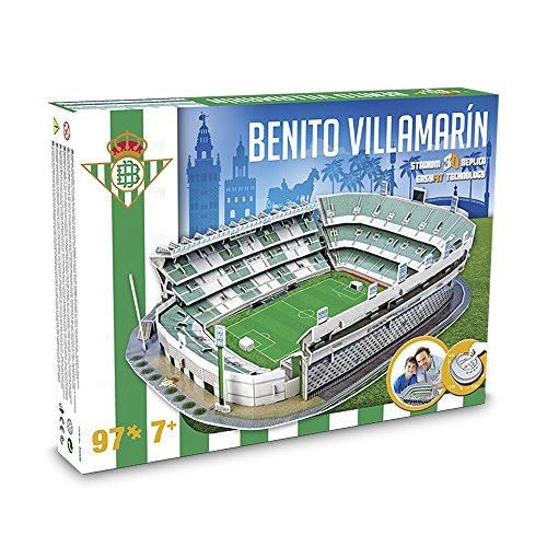 GIOCHI - Estadio Betis B. Vilamarín, Puzzle 3D (34006)
