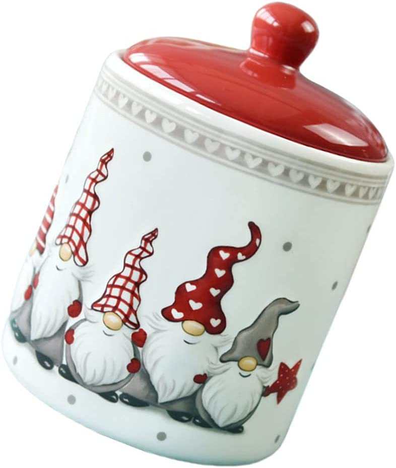 Toyvian Sale special price Ceramic Tea Canister with Popularity Chinese Lid Style Vintage