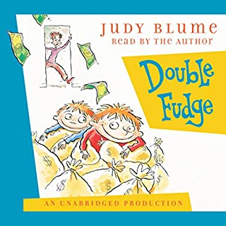 Double Fudge                   By:                                                                                                                                 Judy Blume                               Narrated by:                                                                                                                                 Judy Blume                      Length: 4 hrs and 39 mins     323 ratings     Overall 4.7