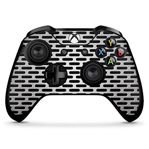 DeinDesign Skin kompatibel mit Microsoft Xbox One X Controller Aufkleber Folie Sticker Blech Metallic Look