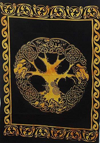 DianPrints Keltischer Baum des Lebens Tapisserie Tapisserie