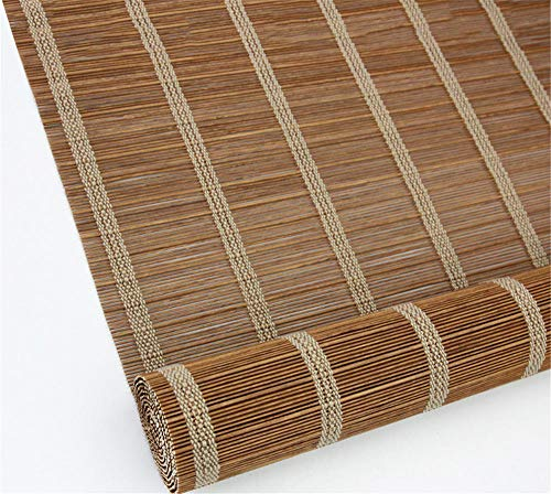 Bambusjalousien Außen-Rollläden aus Holz - Außenrollläden für den Gartenlauben-Pavillon Pergola@3_1.5 * 4m