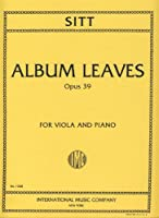 SITT - Hojas de Album Op.39 para Viola y Piano (Lyman)