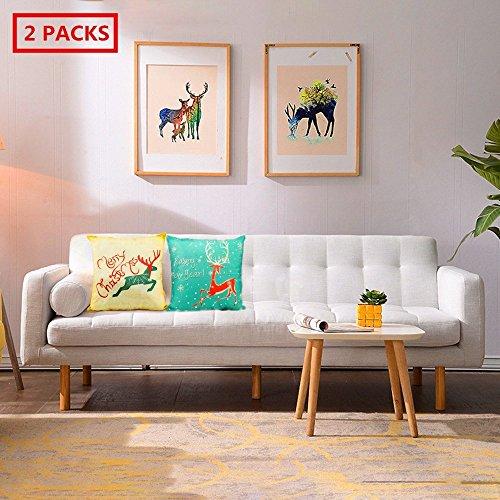 """Multicolore Lion Design Housse De Coussin 17/"""" x 17/"""" Maison Canapé Décor"""