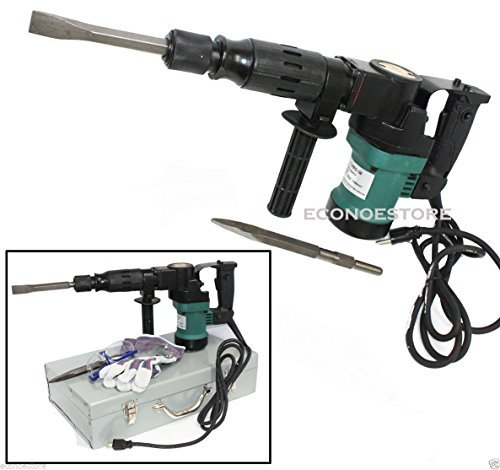 3000BPM 900W 1-1/2' Electric Demolition Hammer Concrete Breaker W/Chisels Bits