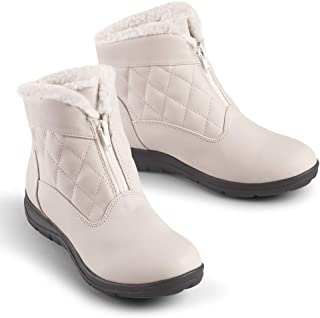 Best white quilted snow boots Reviews