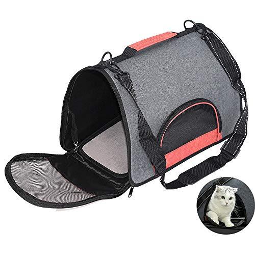 Kat draagtas, huisdier Harde handtas Puppy Reizen Schoudertas Huisdier Booster Stoel met Verstelbare riem voor Outdoor wandelen metro reizen