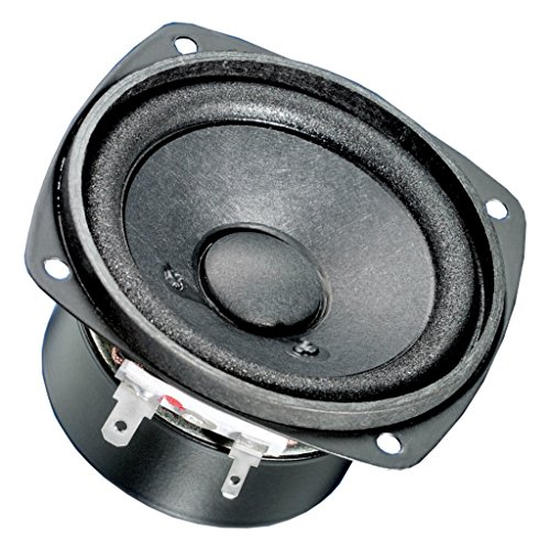 'Visaton vs-f8sc/8–Lautsprecher (8,38cm (3.3), Rolle, 20W, 30W, 80–15000Hz, 2cm) schwarz