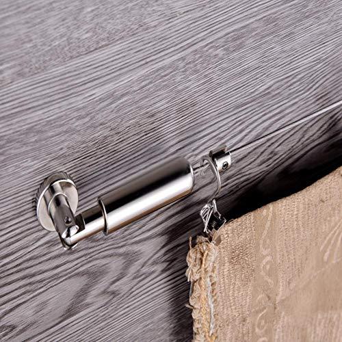 fervory 5m Alambre De Cortina 304 Accesorios De Cortina De Cable De Acero Inoxidable Cortina De Acero Inoxidable Alambre De Tensión Pinzas Pinzas