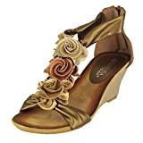 PATRIZIA Harlequin Multi Gold Shoe US 9