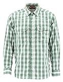 Simms Big Sky Vented Fishing Shirt, Long Sleeve 50+ UPF Top, Evergreen Plaid, XX-Large