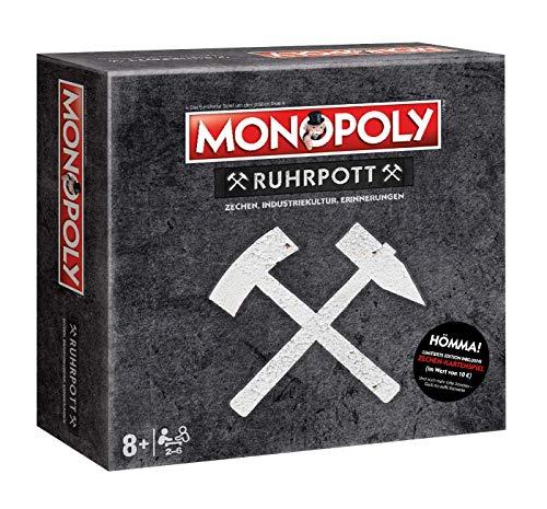 Monopoly Ruhrpott Spiel Brettspiel Gesellschaftsspiel NEU inkl. GRATIS QUARTETT