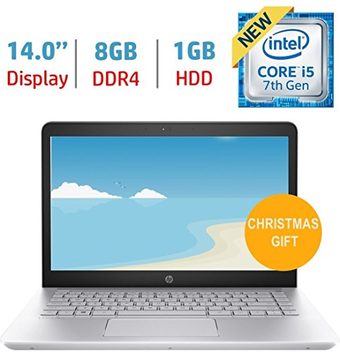 Product Image 6: HP Pavilion 14″ HD Notebook , Intel Core i5-7200U Processor up to 3.10 GHz, 8GB DDR4, 1TB Hard Drive, No DVD, Webcam, Backlit Keyboard, Bluetooth, Win 10