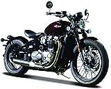 Bburago Triumph Bonneville Bobber, Motorrad Modell 1:18
