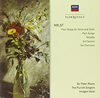 Holst: 4 Songs for Voice & Vln / 6 Choruses by PEARS / ENGLISH CHAMBER ORCH / HOLST (2011-01-25)