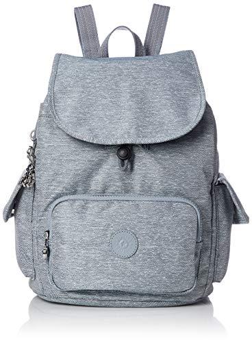 Kipling Peppery Eyes Wide Open City Pack S Small Backpack Cool Denim