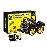 KEYESTUDIO 4WD Programmable Smart Car Robot Starter Learning DIY Kit for Arduino Electronics