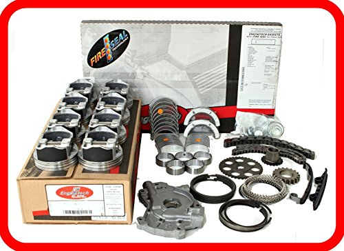 Engine Rebuild Overhaul Kit FITS: 2005-2006 Chevrolet GMC 5.3L 5.3 5300 V8 LS Vortec W/Flat-Top Pistons