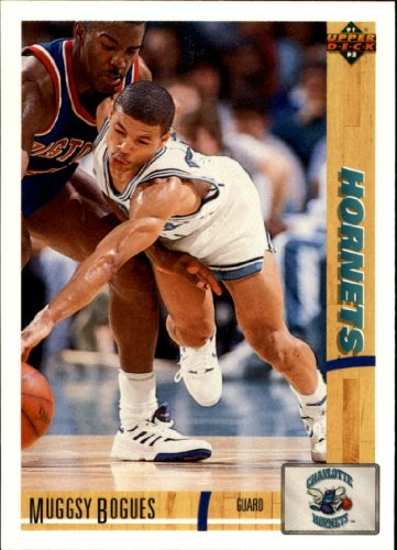 1991 Upper Deck Basketball Card (1991-92) #242 Muggsy Bogues