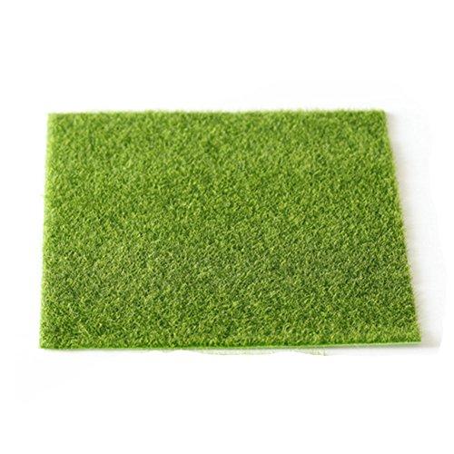 1 pieza DIY césped de hada césped césped artificial hierba césped hada...