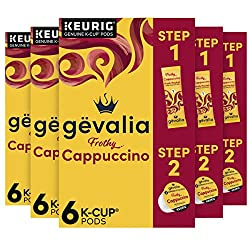 Gevalia Cappuccino K-Cup Coffee Pods