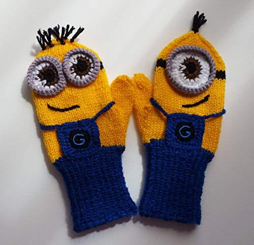 Fäustlinge, Handschuhe MINIONS für Kinder 5-7 Jahre
