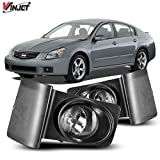 Winjet Compatible with [2007-2008 Nissan Maxima] Driving Fog Lights + Switch + Wiring Kit