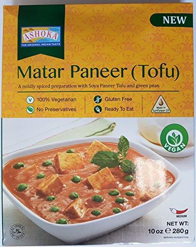 ASHOKA Instant Matar Paneer (Tofu), 280 g