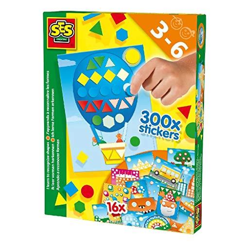 SES Creative lerne Farben und Formen Lernspielzeug, Mehrfarbig