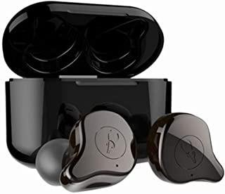 Sabbat E12 Ultra True Wireless Earbuds Bluetooth 5.0 Earphones TWS in Ear Bluetooth Headphones, HiFi Sound, Wireless Charging, Noise Isolation for Android iPhone -Brown