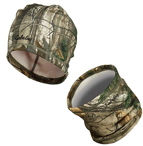 Zeek Outfitter Kids Camo Hunting Hat | Boys RT Camo | Kids Hunting Clothes Boys Camo | RT Xtra Hunting Clothes | Youth Camouflage Beanie & Neck Gaiter Set (RT Xtra)
