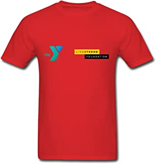 MozFashion Men's LIVESTRONG at the YMCA T-Shirts
