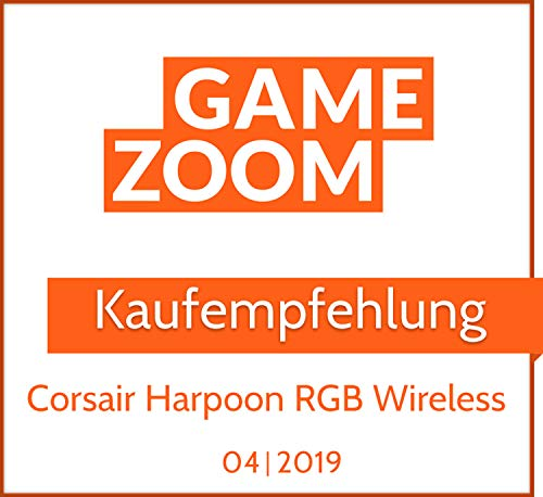 Corsair Harpoon Kabellose RGB Wiederaufladbare Optisch Gaming-Maus (mit SLIPSTREAM Technologie, 10.000DPI Optisch Sensor, RGB LED Hintergrundbeleuchtung) schwarz - 17