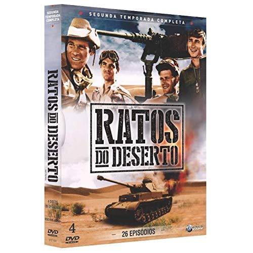 Ratos do Deserto 2ª Temporada Completa Digibook 4 Discos