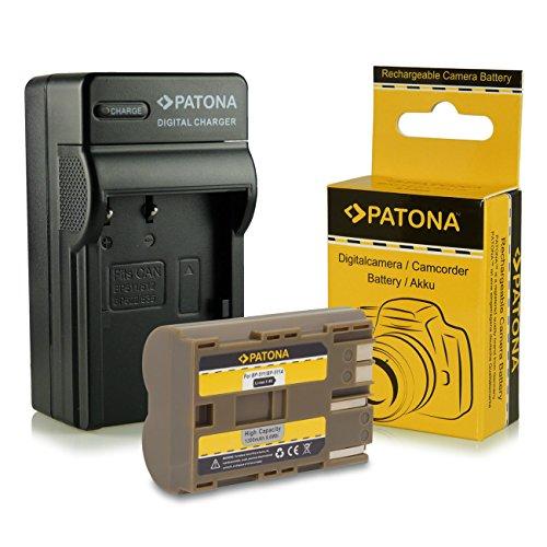 Cargador + Batería BP-511 para Canon PowerShot G1 | G2 | G3...