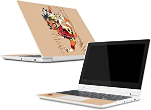 Mightyskins Skin Compatible with Lenovo Chromebook C330 (2018) - Monkey Girl | Protective, Durable, and Unique Vinyl Decal Wrap Cover | Easy to Apply, Remove, and Change Styles | Made in The USA