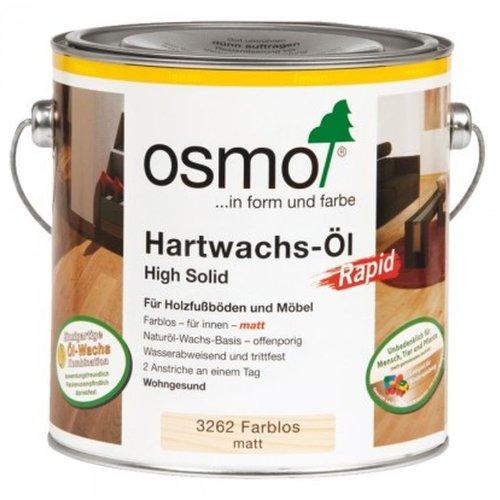 Osmo Hartwachs-Öl RAPID 3262 Farblos matt 2,5 Liter