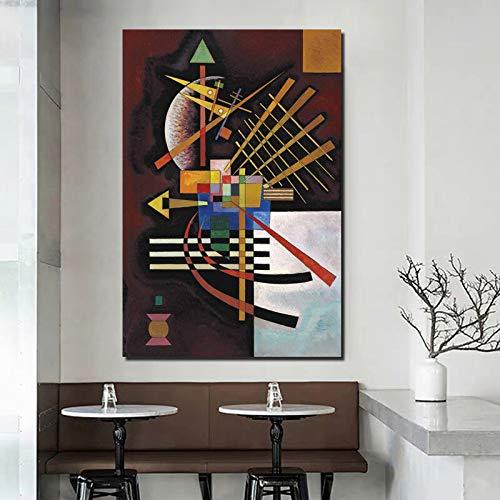 Abstrakte Ölgemälde Wand Leinwand Kunst Moderne Wanddekoration für Wohnzimmer Hauptdekoration,Rahmenlose Malerei,30x45cm