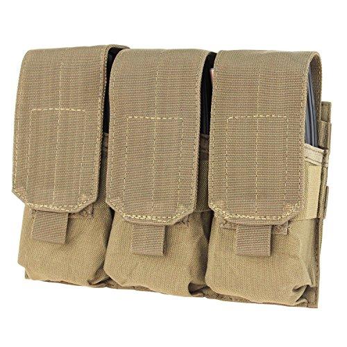 CONDOR MA58-003 Triple M4 Mag Pouch Coyote Tan