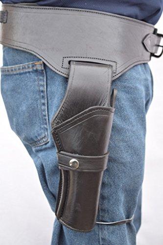 Gun Holster & Belt Cowboy Western Style Rig .44/.45 Cal...