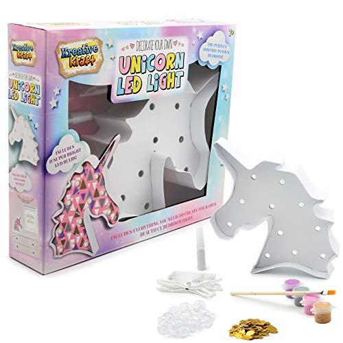 Kit Lampara LED Unicornio Accessories Decoraciones de Dormitorio para Habitacion Niñas