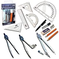Mr. Pen 15-Piece Geometry Set With 6
