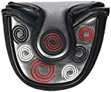 Odyssey Silver Swirl Mallet Putter Cover