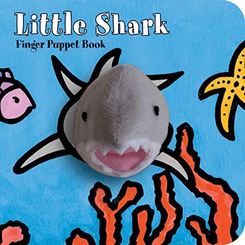 Little Shark: Finger Puppet Book: (Puppet Book for Baby, Little Toy Board Book, Baby Shark)