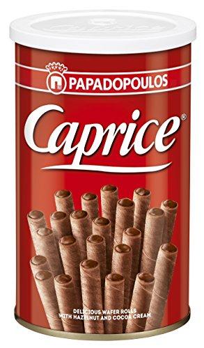 PAPADOPOULOU CAPRICE Waffel mit Haselnuss  Kakao Creme 400g