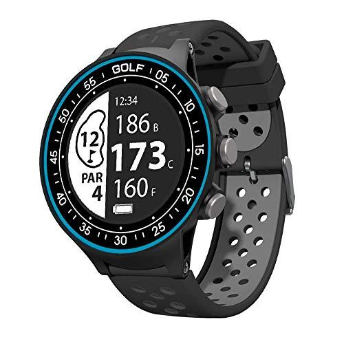 RocketGolf Golfuhr Par.4 GPS Entfernungsmesser Einfach & Schlicht - Golffunktion, 38.000+ Golfplätze, Entfernung Hindernis, Schrittzähler, kostenlose Updates