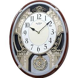 Rhythm Clocks Chateau Musical Motion Clock