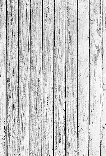 Fondo de fotografía Piso de Tablero de Madera Retro Fondo de recién Nacido Fotografía de Alimentos Fondo de sesión fotográfica Estudio fotográfico A9 7x5ft / 2.1x1.5m